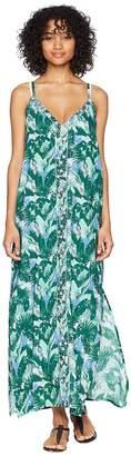 Letarte Sleeveless Maxi Dress Cover-Up Women's Swimwear