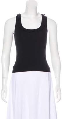 Celine Sleeveless Rib Shell