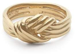 Ferian - Lovers Knot 9kt Gold Ring - Womens - Gold