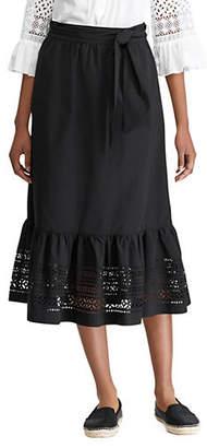 Lauren Ralph Lauren Markayla A-Line Midi Skirt