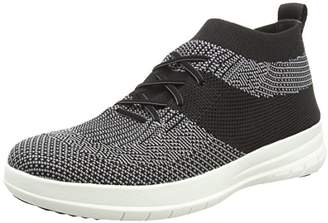 FitFlop Men's Uberknit Slip-ON HIGH TOP Sneaker Hi Trainers,41 EU
