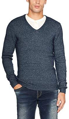 Tom Tailor Men's Cozy V-Neck Sweater Jumper,Large
