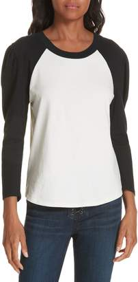 Veronica Beard Josey Baseball Tee