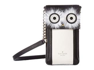 Kate Spade Penguin Crossbody Phone Case for iPhone(r)