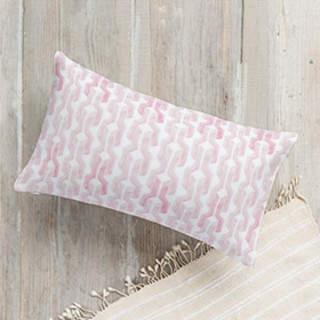 Watercolored Links Lumbar Pillow
