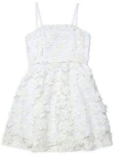 Milly Minis Girl's Avery Floral Dress