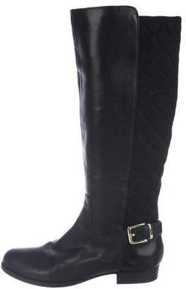 Isaac Mizrahi Knee-High Leather Boots