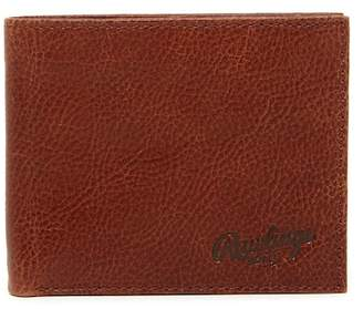 Rawlings Sports Accessories Triple Play Leather Bi-fold Wallet