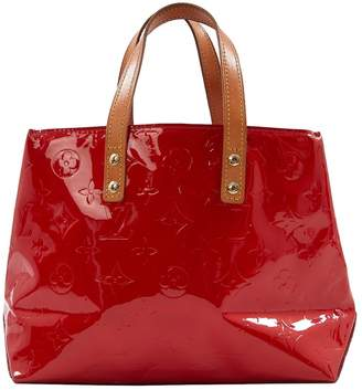 Louis Vuitton Red Patent Leather Handbag