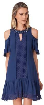 Hale Bob Tanea Crepe Dress