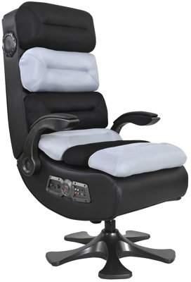 X Rocker Pro Series II 2.1 Wireless Bluetooth Gaming Chair, Black/Platinum