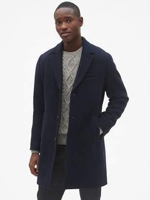 Wool-Blend Topcoat