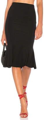 MAJORELLE x REVOLVE Roksana Skirt in Black $138 thestylecure.com