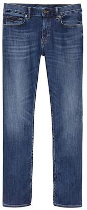 Banana Republic Slim LUXE Traveler Dark Wash Jean