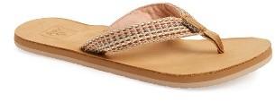 Women's Reef Gypsylove Lux Flip Flop $47.95 thestylecure.com