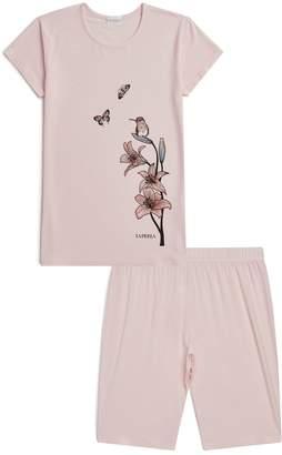 La Perla Floral Motif Pyjamas