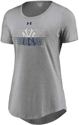 New York Yankees Mlb Women's Under Armour Caught Looking Tee