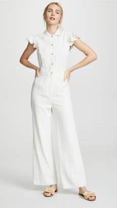 149cab1f5e09 White Linen Jumpsuit - ShopStyle