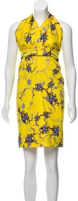 Altuzarra Printed Knee-Length Dress