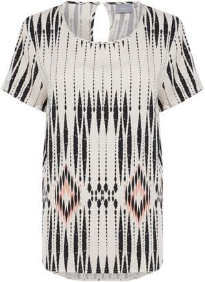B.young B. Young Gagine Printed Blouse