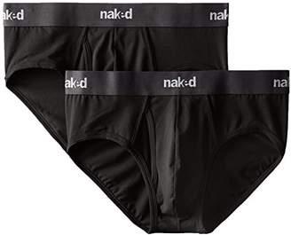 Naked Men's 2-Pack Essentials Brief