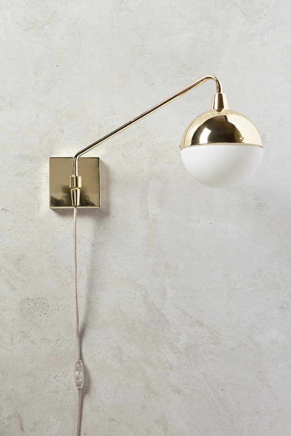 AnthropologieAnthropologie Anchored Orb One-Arm Sconce