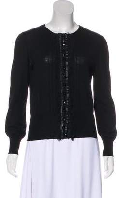 Philosophy di Alberta Ferretti Virgin Wool Cardigan