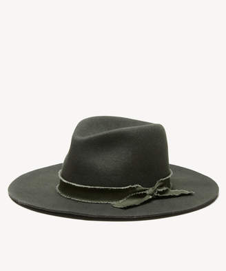 Sole Society Women's Wool Felt Panama Hat Taupe One Size From