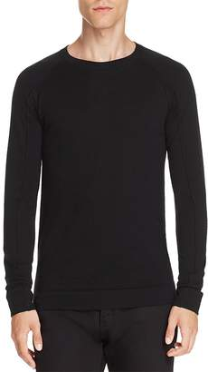 Helmut Lang Merino Wool Crewneck Sweater $250 thestylecure.com