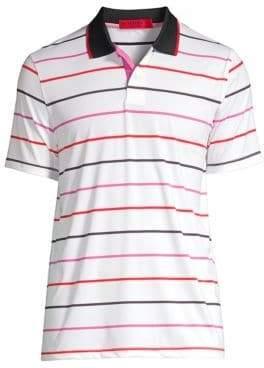 Multi-Stripe Polo Tee