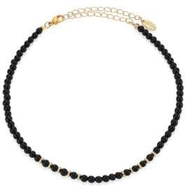 Ettika Beaded Gemstone Choker