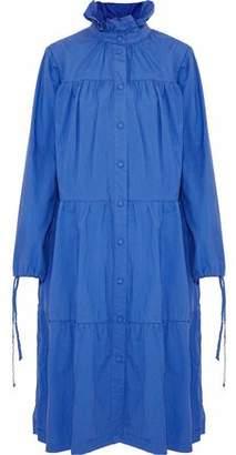 J.W.Anderson Tiered Ruffle-Trimmed Cotton-Poplin Coat