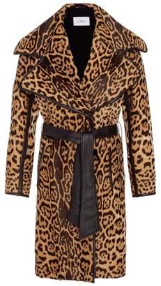 Maison Di Prima Jean Wide Collar Trench Coat