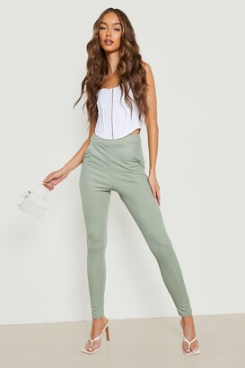 boohoo Crepe Stretch Skinny Pants