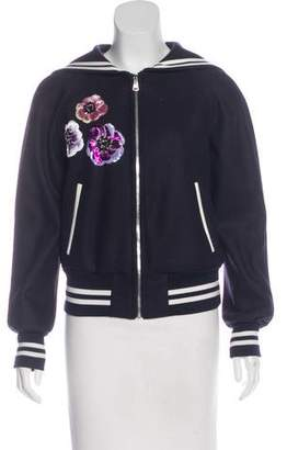 Dolce & Gabbana Sailor Collar Bomber Jacket