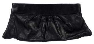 Lauren Merkin Leather Eve Clutch