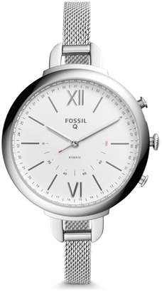 Fossil Hybrid Smartwatch - Q Annette Stainless Steel
