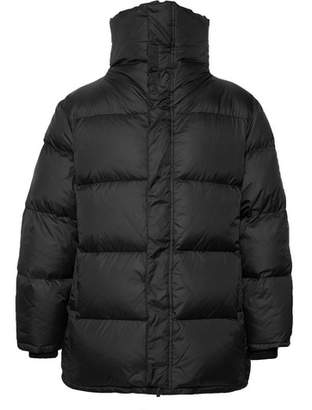 Saturdays NYC Silas Quilted Nylon Down Jacket
