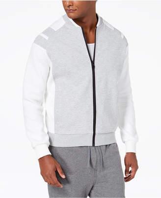 Sean John Men's Pieced Bomber Jacket, Created for Macy's