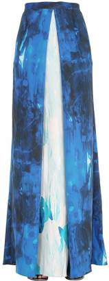 Printed Silk Chiffon Skirt