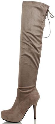 Dollhouse Deceive Thigh High Boot $69 thestylecure.com