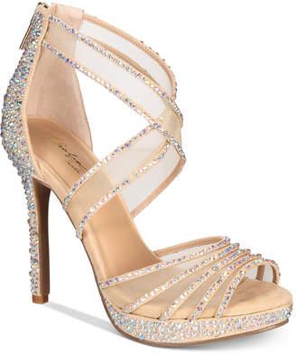 Thalia Sodi Ceara Platform Evening Sandals, Created For Macy's Women's Shoes