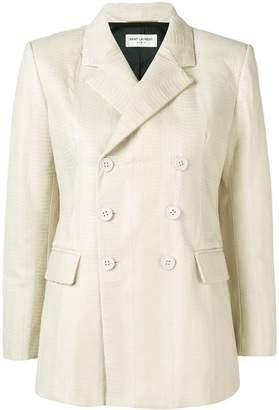 Saint Laurent double-breasted blazer jacket