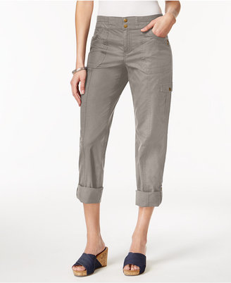 Style & Co Convertible Cargo Pants, Only at Macy's $49.50 thestylecure.com