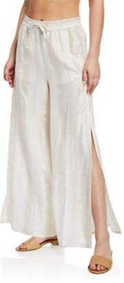Onia Chloe Wide-Leg Coverup Pants
