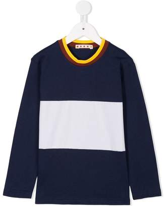 Marni block stripe T-shirt