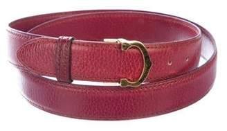 Cartier Must de Leather Belt