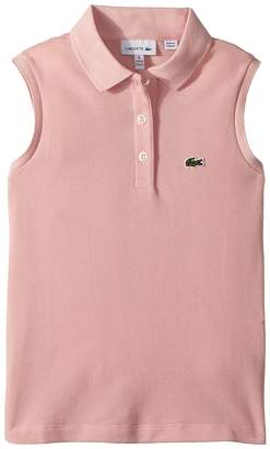 Lacoste Kids Sleeveless Pique Polo Girl's Clothing