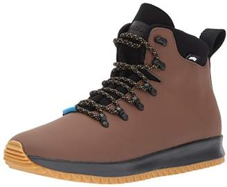 Native Men's Ap Apex Boot Rain CT/Jiffy Black/NAT Rubber