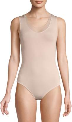 Wolford Solid Scoopneck Bodysuit